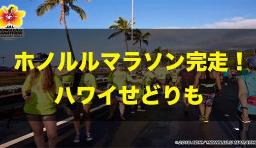 ホノルルマラソンに出場〜ハワイせどり〜